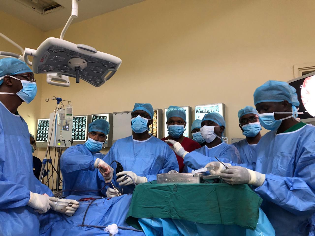 Dr. Sunil Kutty at Kenya